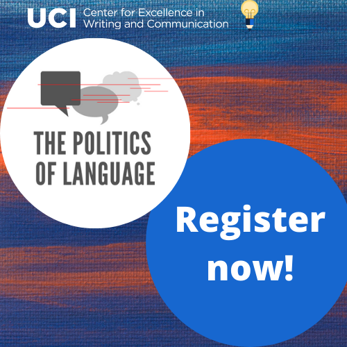 Click here to register now for the Politics of Language Speaker Series!